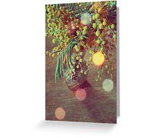 Vintage Mimosa Greeting Card