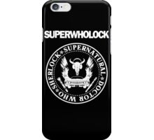 Superwholock Ramones iPhone Case/Skin