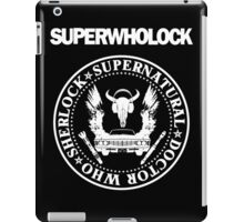 Superwholock Ramones iPad Case/Skin