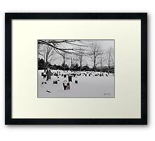Never Forget Framed Print