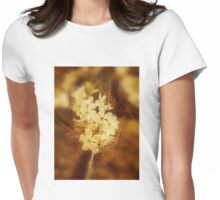Vintage Spring Blossom Womens Fitted T-Shirt