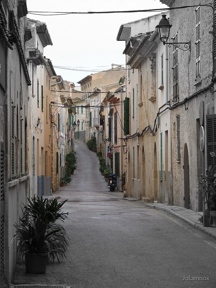 Spanish Back Street by JoLennox