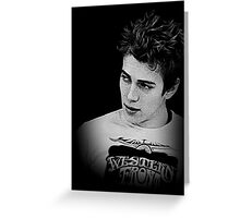 Hayden Christensen Greeting Card