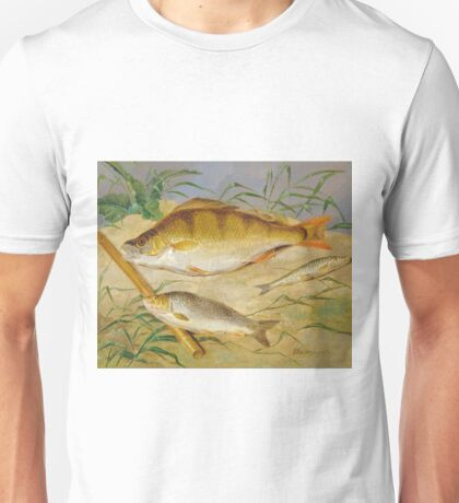 Dean Wolstenholme The Younger - An Anglers Catch Of Coarse Fish Ca. 1850 Unisex T-Shirt