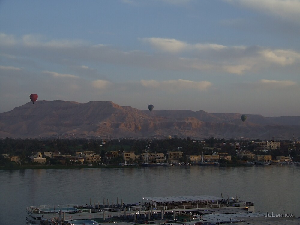 Balloons Over The Nile by JoLennox