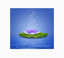 Water Lily 2 Womens Fitted T-Shirt