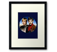 Two Sides Of The Same Coin Framed Print