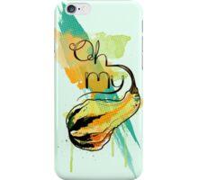 OMG! Oh My Gourd iPhone Case/Skin