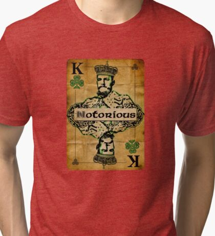 The Notorious Conor McGregor Irish Fighter Tri-blend T-Shirt