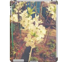 White Plum Blossoms iPad Case/Skin