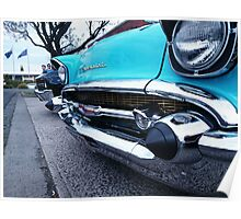 Chevy Chroming Poster
