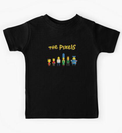 The simpsons - Pixel serie Kids Tee