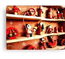 chrismas toys-1 Canvas Print