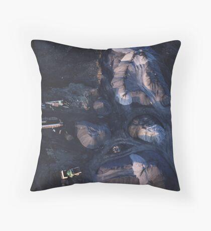 quarry colour Throw Pillow