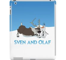 Sven and Olaf iPad Case/Skin