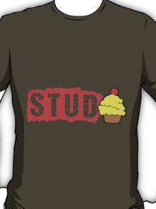 Stud Muffin, Cute Funny Cupcake T-Shirt