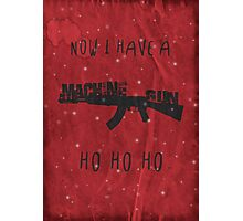 'Die Hard' Inspired Christmas Card Photographic Print