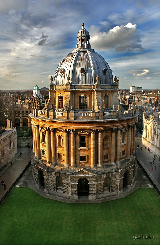 The Radcliffe Camera by gashwen