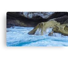Oceanic Wave Drive Canvas Print
