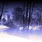 blue winter by gashwen