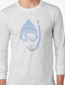 Snorkel deep powder snow Long Sleeve T-Shirt