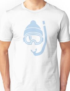 Snorkel deep powder snow Unisex T-Shirt