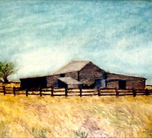 The Old Woolshed by C J Lewis
