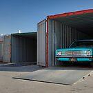 Blue Holden HK Ute by John Jovic
