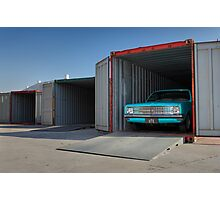Blue Holden HK Ute Photographic Print