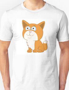 Adorable cartoon cat Unisex T-Shirt