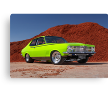 Green Holden LC Torana Canvas Print