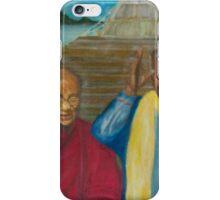Dalai Lama and Nelson Mandela iPhone Case/Skin