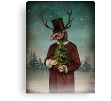 Mr Reindeer Canvas Print