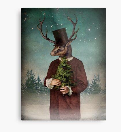 Mr Reindeer Metal Print