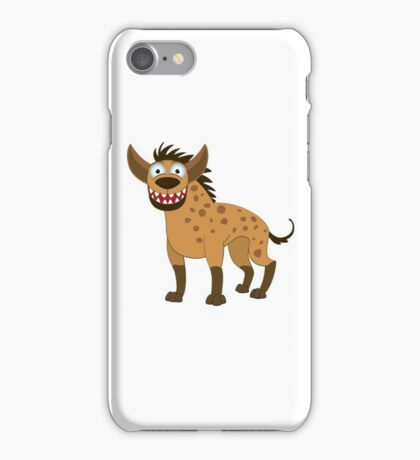 Funny smiling cartoon harpy iPhone Case/Skin