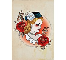 Victorian Lady Photographic Print