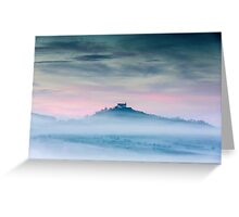 Chapel of Wurmlingen above the Mist Greeting Card