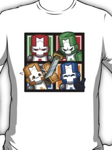Castle Crashers Four-Square T-Shirt