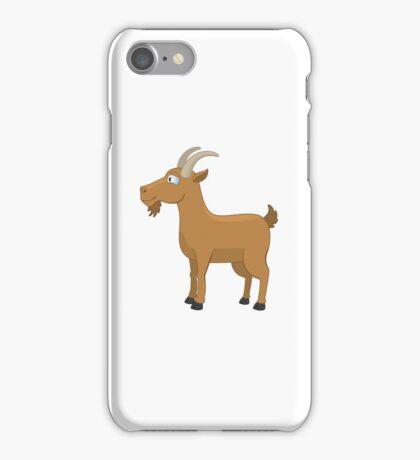 Funny cartoon Capricorn iPhone Case/Skin