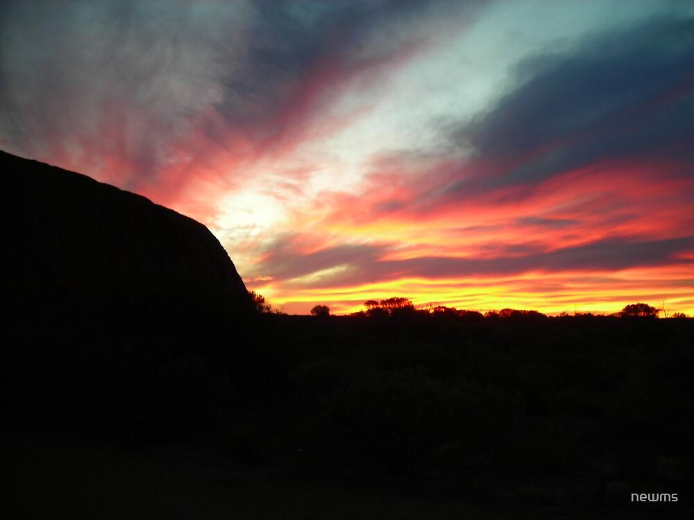 Uluru sunset by newms