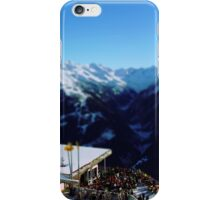 Austrian Winter Landscape iPhone Case/Skin