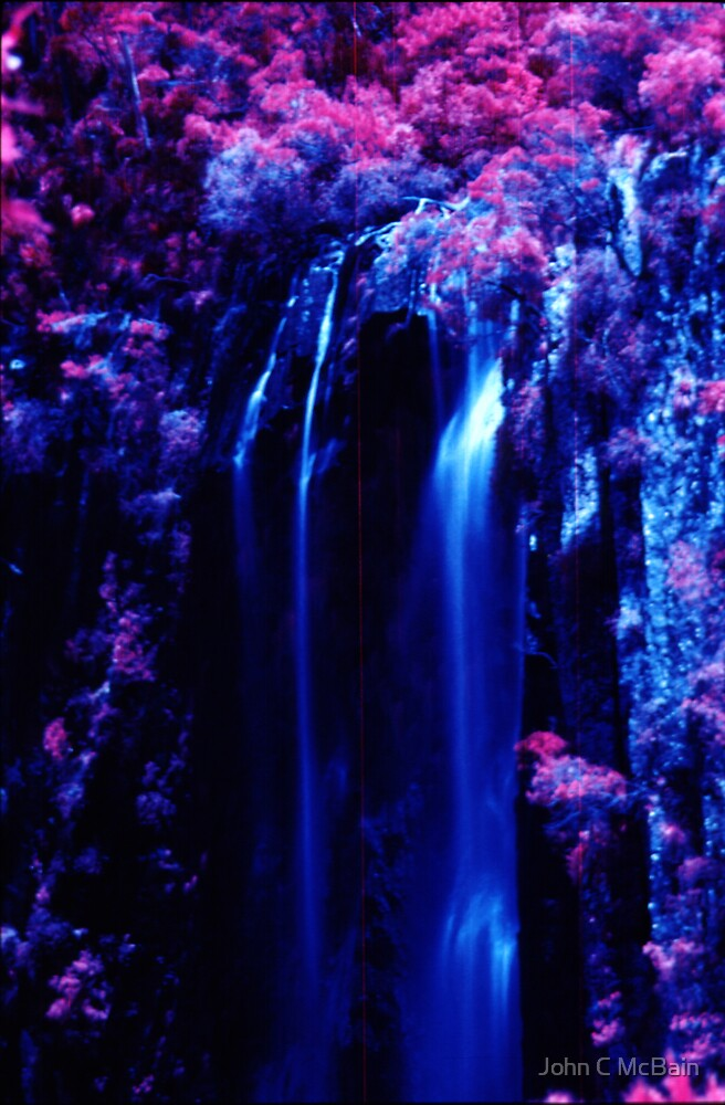 Minyon Falls, New South Wales, Australia by John C McBain