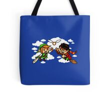 harry potter vs zelda Tote Bag
