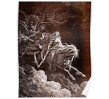 Death on the Pale Horse, Gustave Doré, (1865), Revelations Poster
