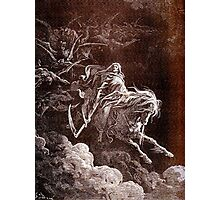 Death on the Pale Horse, Gustave Doré, (1865), Revelations Photographic Print