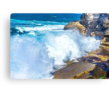 Wave Brake Canvas Print