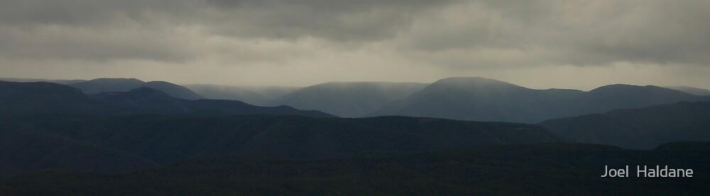 Misty Mountains by Joel  Haldane