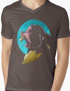 TweedyPig Mens V-Neck T-Shirt