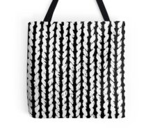 knitted hand made Tote Bag