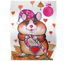 candy hamster Poster